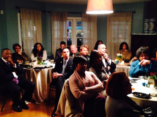 GATHER@The Ballard House Quarterly Meal / December, 2014
