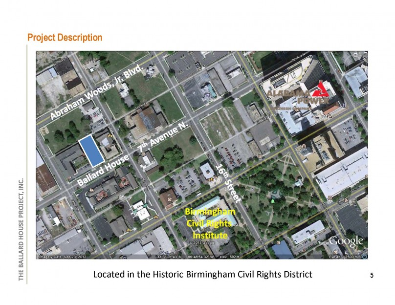 Arial View / Birmingham Historic Civil Rights District