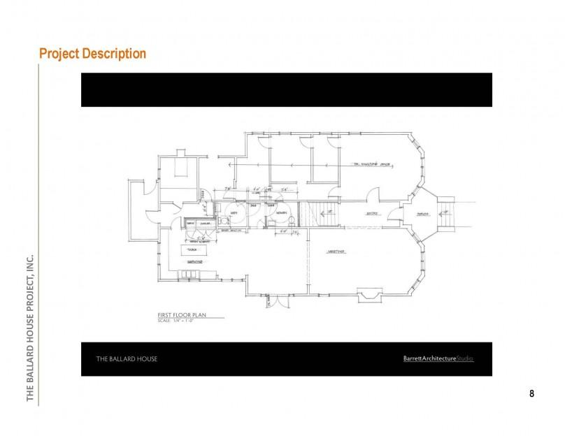 Architectural Sketch / 1st Floor