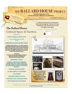 The Ballard House Project.News.11.2014